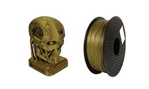 HELLO3D メタルライク  PLAフィラメント 1000g
