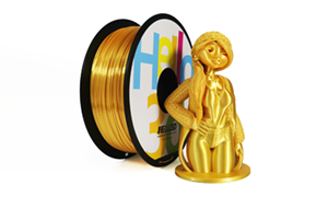 HELLO3D シルクゴールド PLAフィラメント 1000g