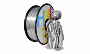 HELLO3D シルクシルバー  PLAフィラメント 1000g
