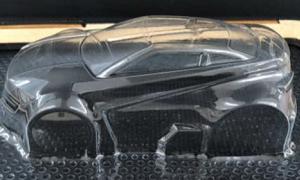 ポリ塩化ビニル【透明】0.5mm V.Former Lab用 真空成形素材